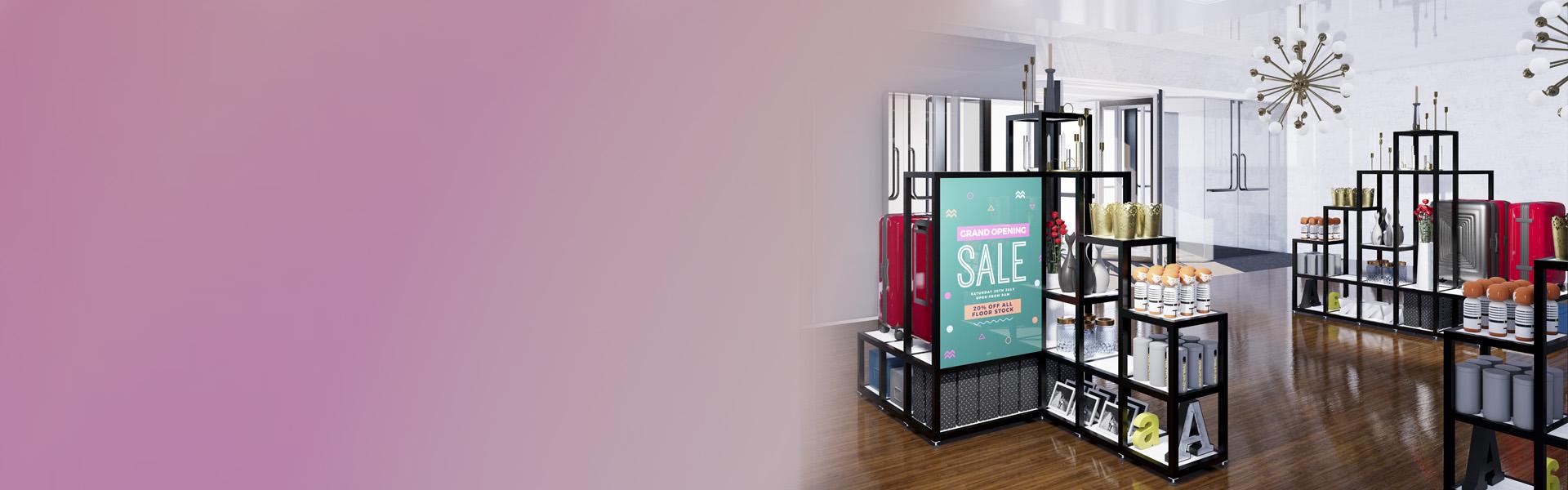 modüler mağaza sistemleri