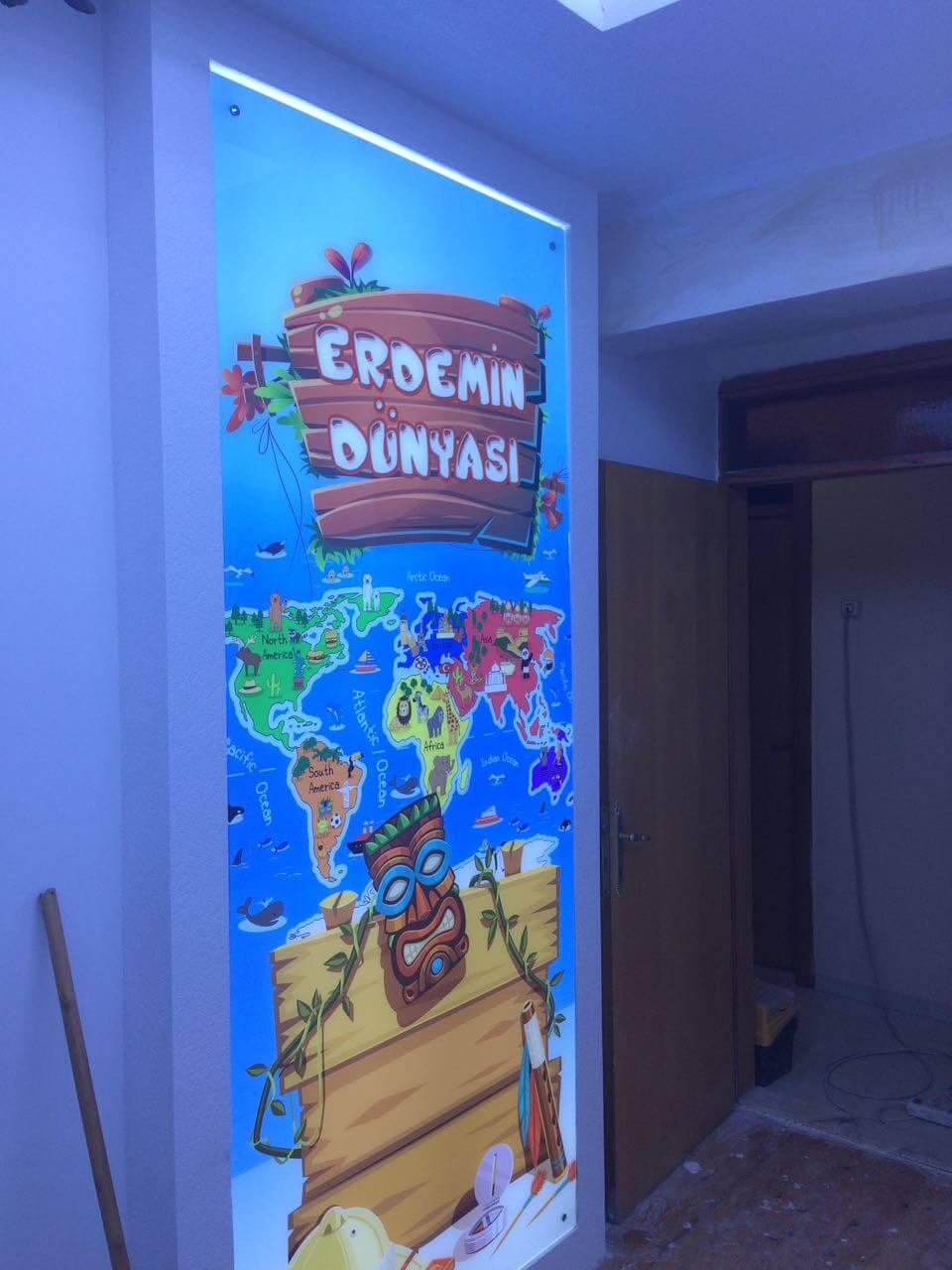 UV Cam Baskı